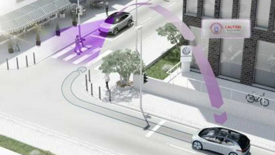 Volkswagen Vehicle-To-Vehicle Communication Coming In 2019