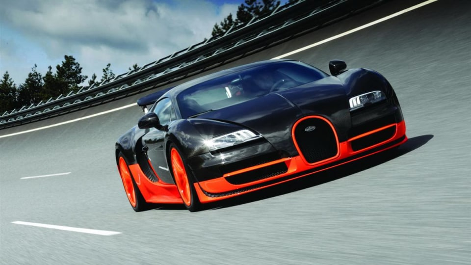 Bugatti Veyron 16.4 Super Sport Gets 895kW, Records 431km/h At VW Proving Grounds
