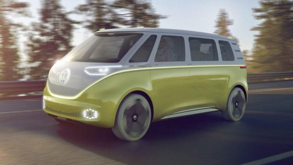Autodesk VRED Professional 2017 SP1 2017 Volkswagen I.D. Buzz concept.