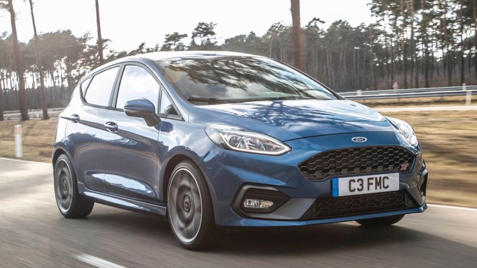 2018 Ford Fiesta ST.