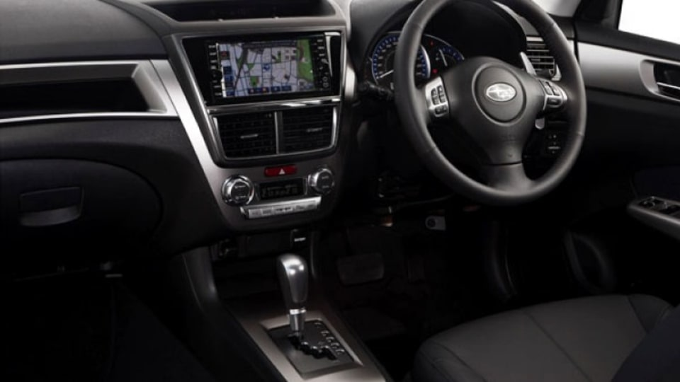 MY10 Liberty Exiga 2.5i Premium interior
