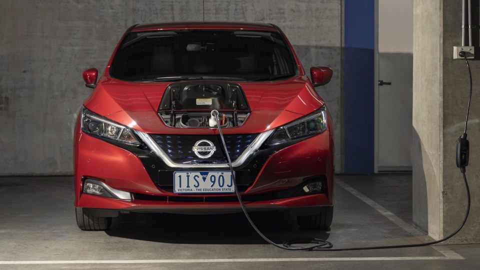 Electric cars outsell manuals in the USA