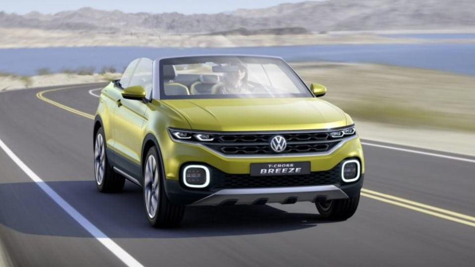 Volkswagen T-Cross Breeze concept previews the brand's forthcoming city-sized SUV.
