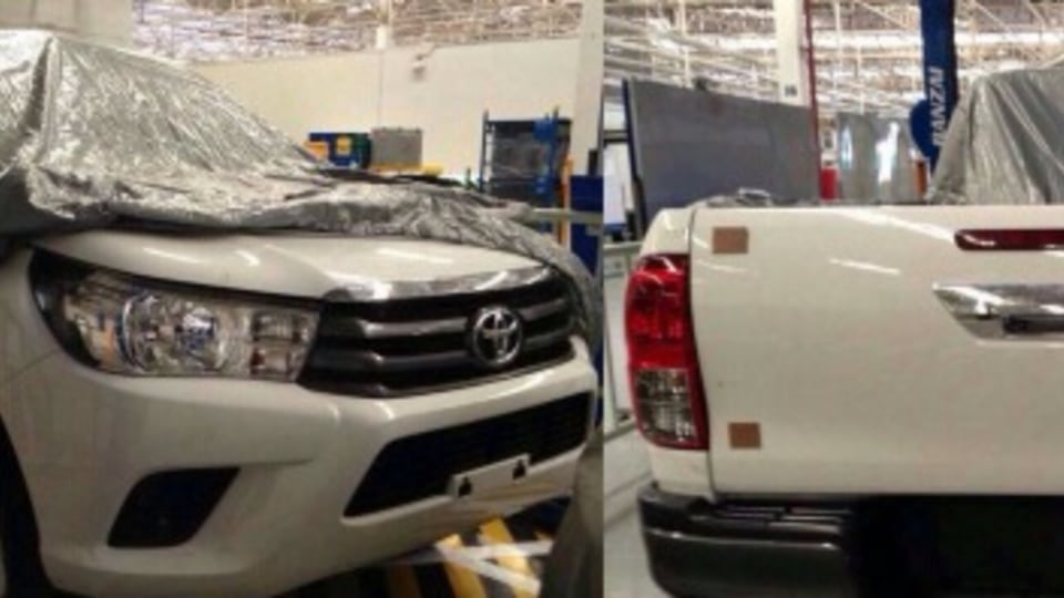2016 Toyota HiLux leaked images