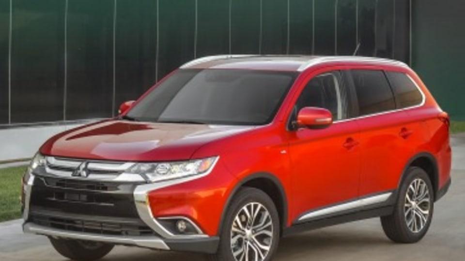 Mitsubishi overhauls Outlander