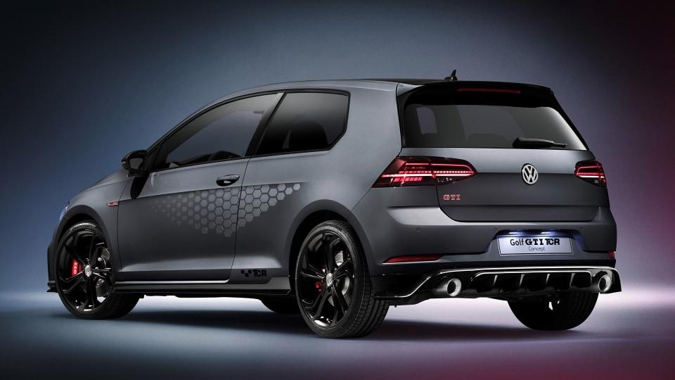 2018 Volkswagen Golf GTI TCR Concept.