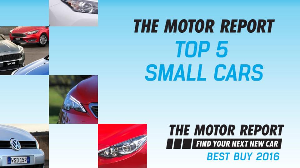 TMR Best Buy 2016 - Top 5 Small Hatchbacks: VW Golf, Peugeot 308, Ford Focus, Mazda3, Toyota Corolla