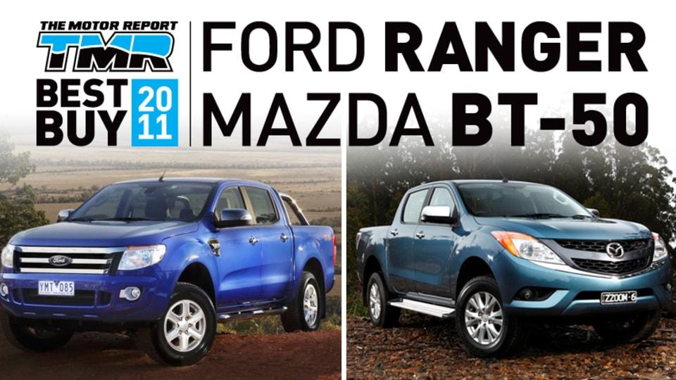 Ford Ranger/Mazda BT-50 Twins Head TMR's Top Ten Best Buys of 2011