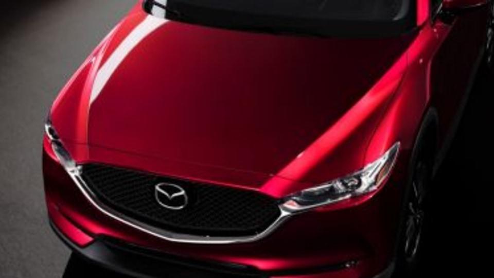2017 Mazda CX-5 revealed