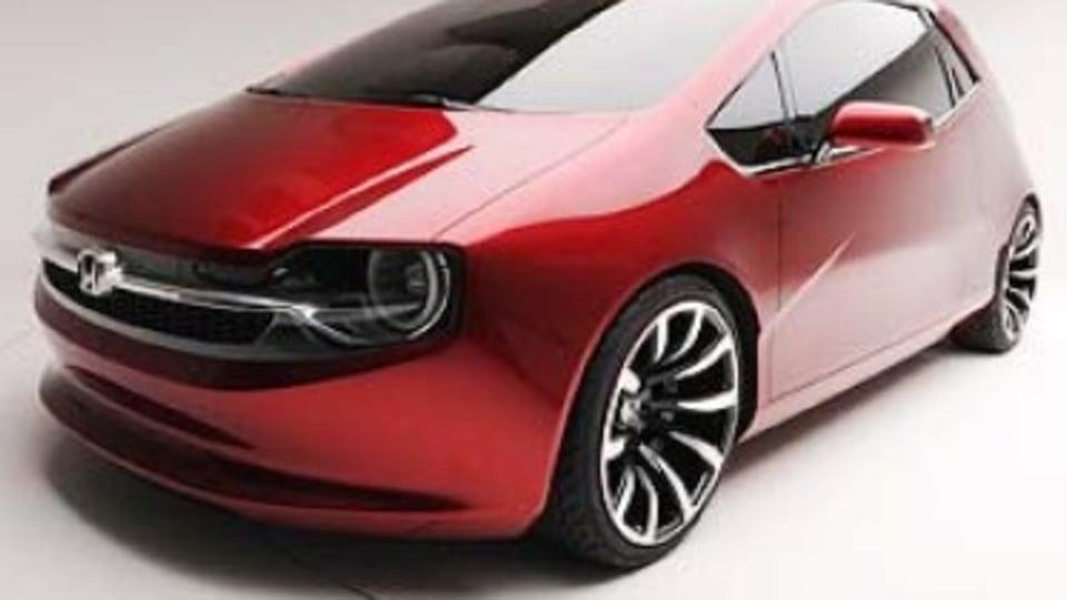 Honda's hipster concept car