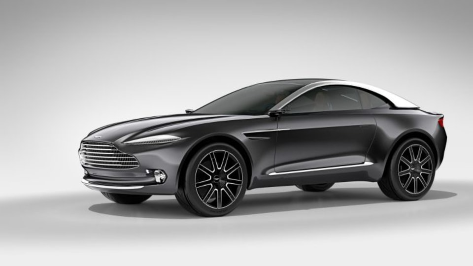 Aston Martin has designed the DBX Concept specifically to appeal to female buyers.