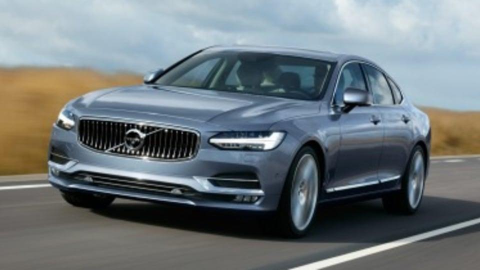 Volvo S90 details confirmed