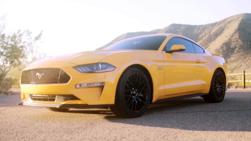 Footage of the next Ford Mustang GT has been leaked online.