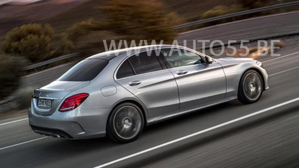 New Mercedes-Benz C-Class Surfaces Again In New Leaked Images