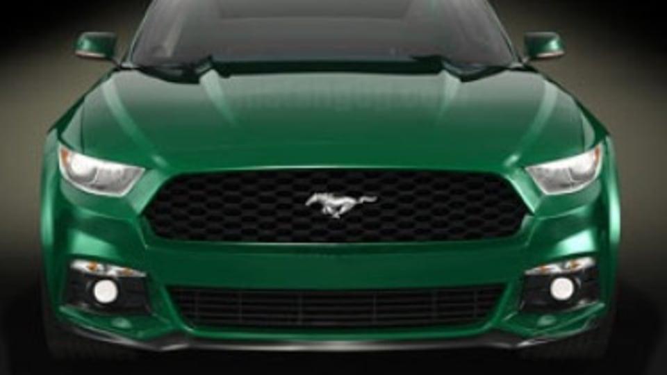 Ford Mustang illustration