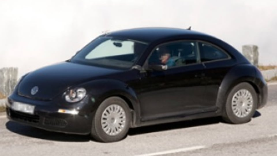 First pictures: VW's new New Beetle
