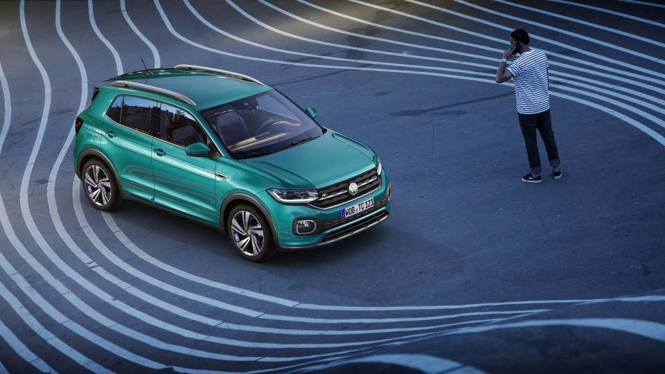 Volkswagen unveils new T-Cross SUV