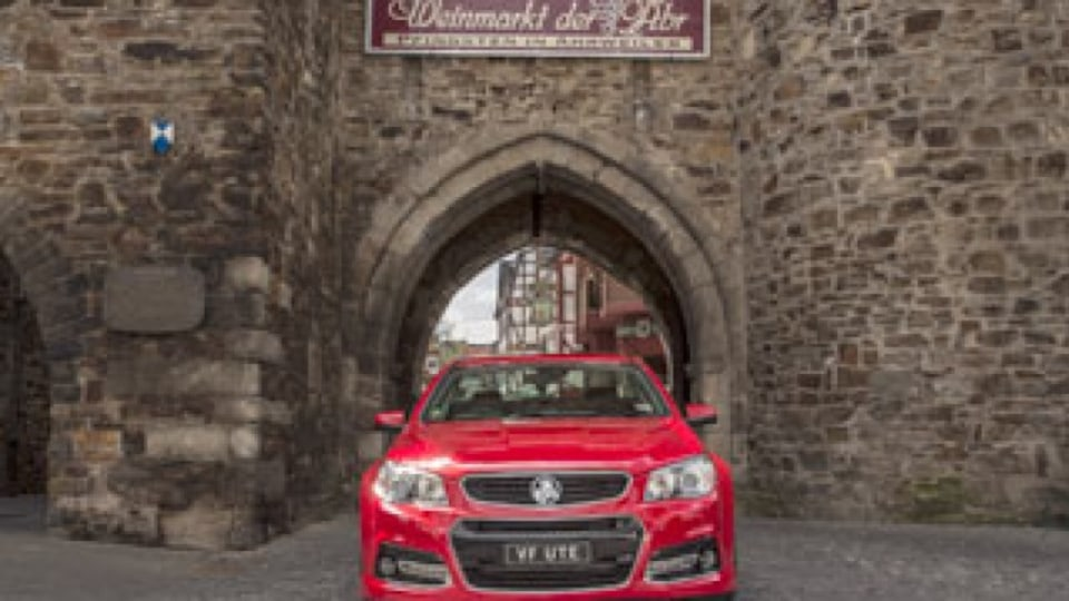 VF Commodore Ute goes to Germany