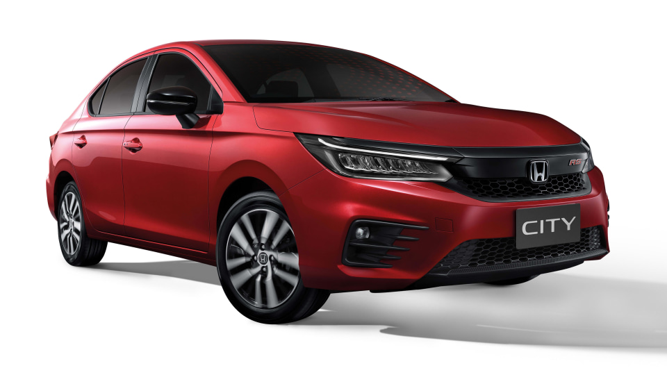 2020 Honda City unveiled