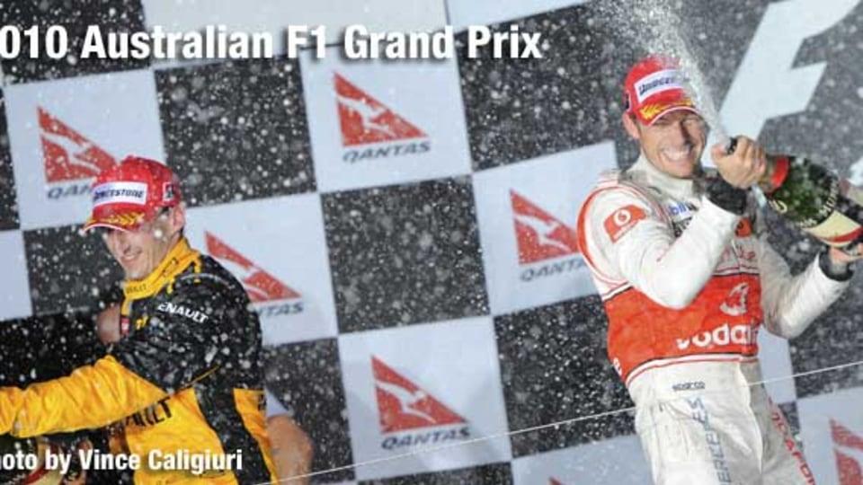 Jenson Button wins.