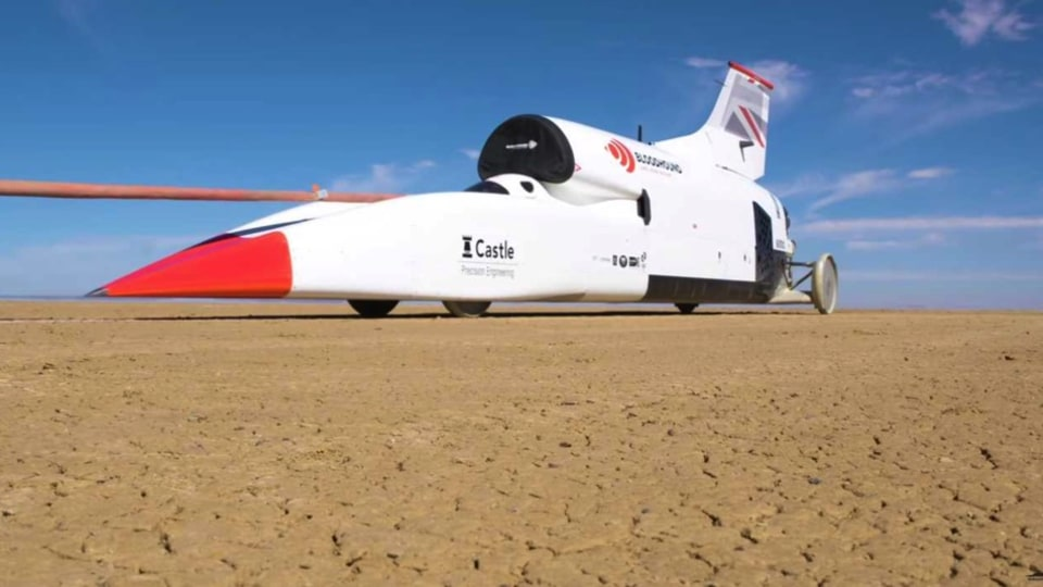 Bloodhound Land Speed Record project for sale