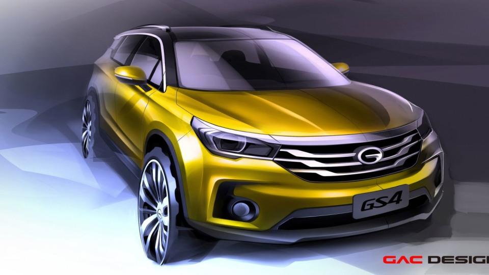 China's GAC Teases GS4 SUV