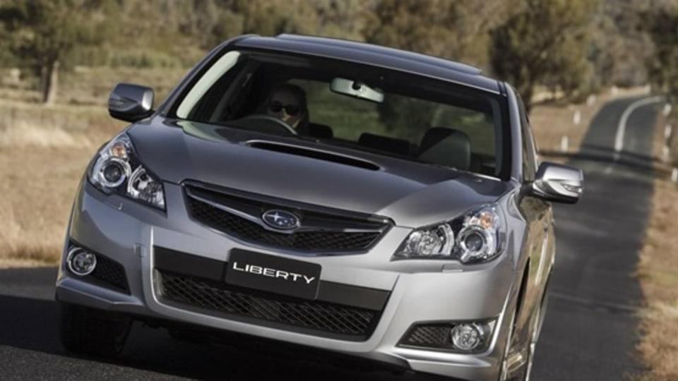 2010 Subaru Liberty Launched In Australia