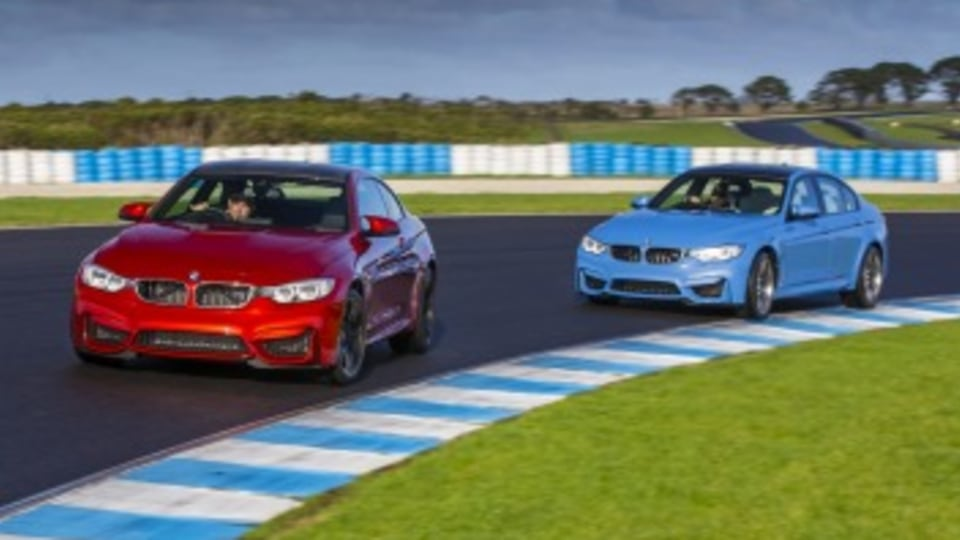 BMW uses track experiences to woo potential customers.