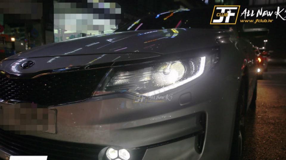 New Kia Optima Revealed As Korea's K5 In New Spy Photos