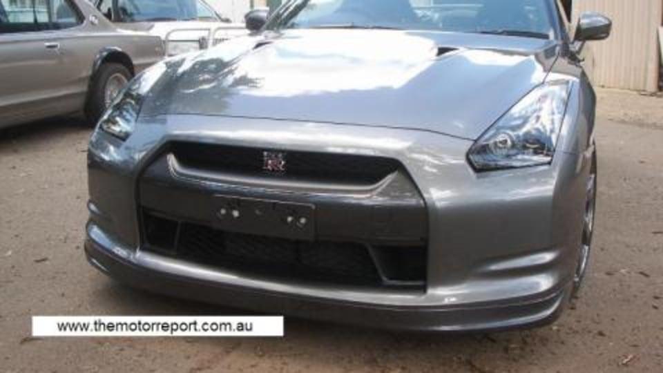 Australia's first road registered R35 GT-R?