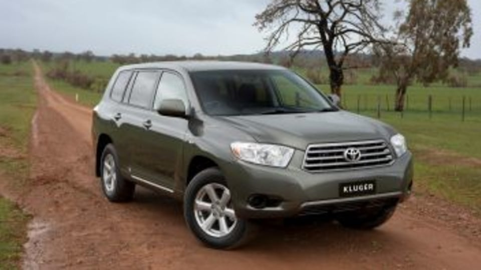 2007 Toyota Kluger KX-R SUPPLIED PIC