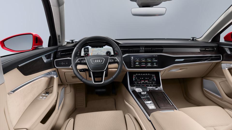 2019 Audi A6.