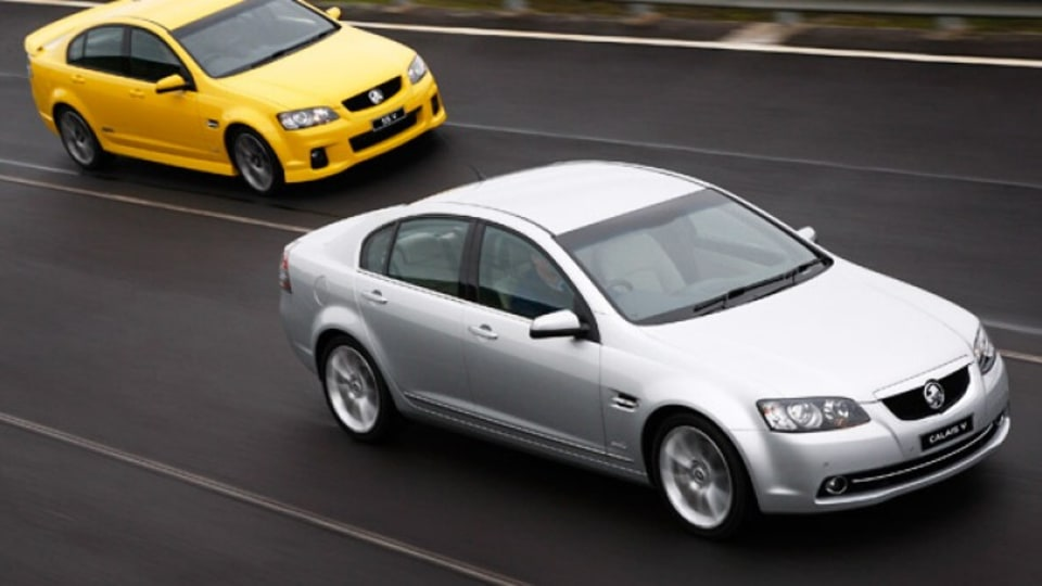 Holden Commodore SS V and Holden Calais V (both Series II)
