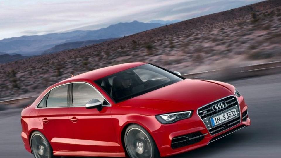 Audi S3 sedan goes manual