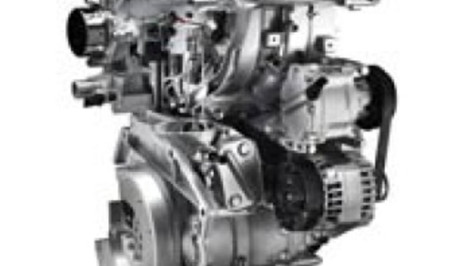The Fiat Twin Air engine.