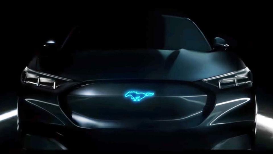 Ford Mustang Hybrid teased