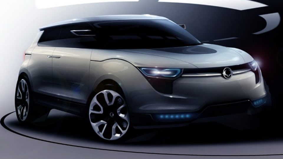 SsangYong XIV-1 Concept Revealed In New Artwork