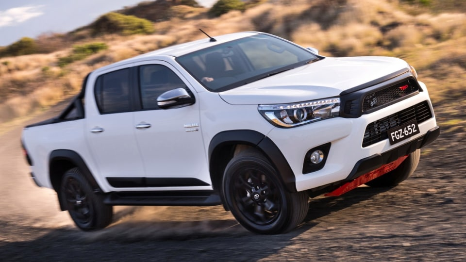 Toyota Hilux TRD could be replaced by GRMN models