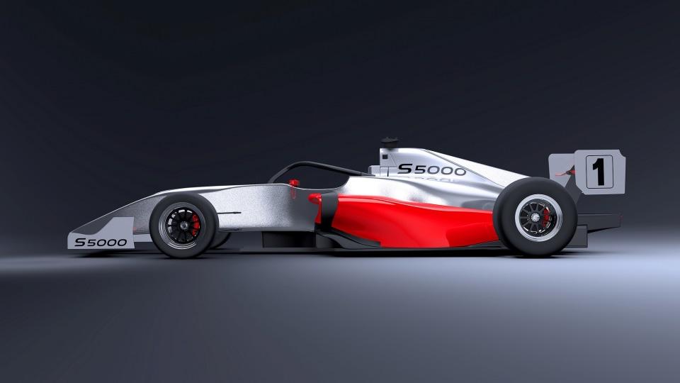 The new S5000 race car.