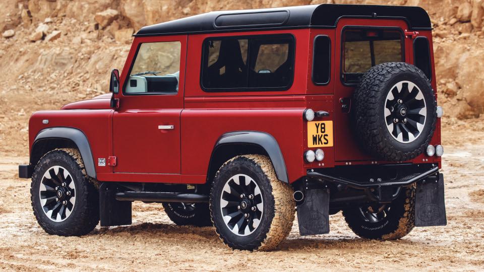 Land Rover Defender V8 Works