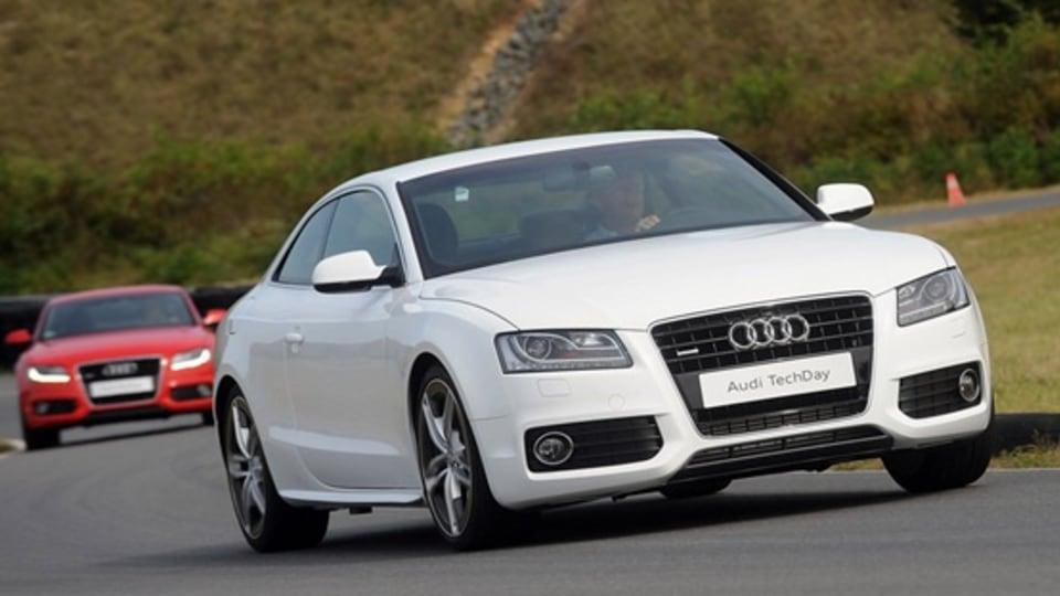 Audi A5 Aluminium Prototype Drops 110kg With Audi Space Frame