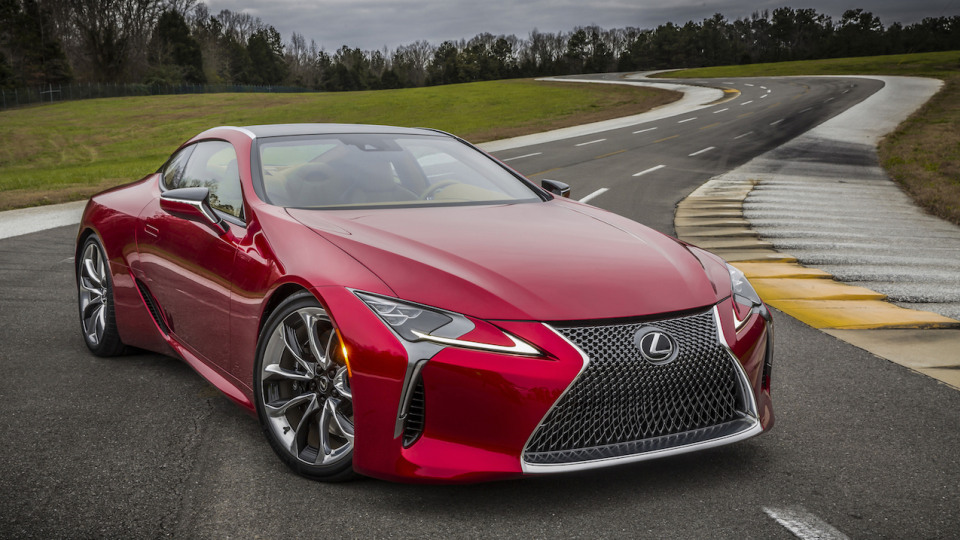 2017 Lexus LC 500 First Drive REVIEW – Stunning Looks With A Soaring Soundtrack And A Feel-Good Factor