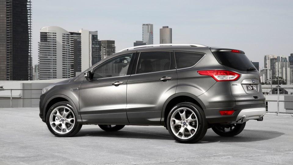 2016 Ford Kuga Titanium.