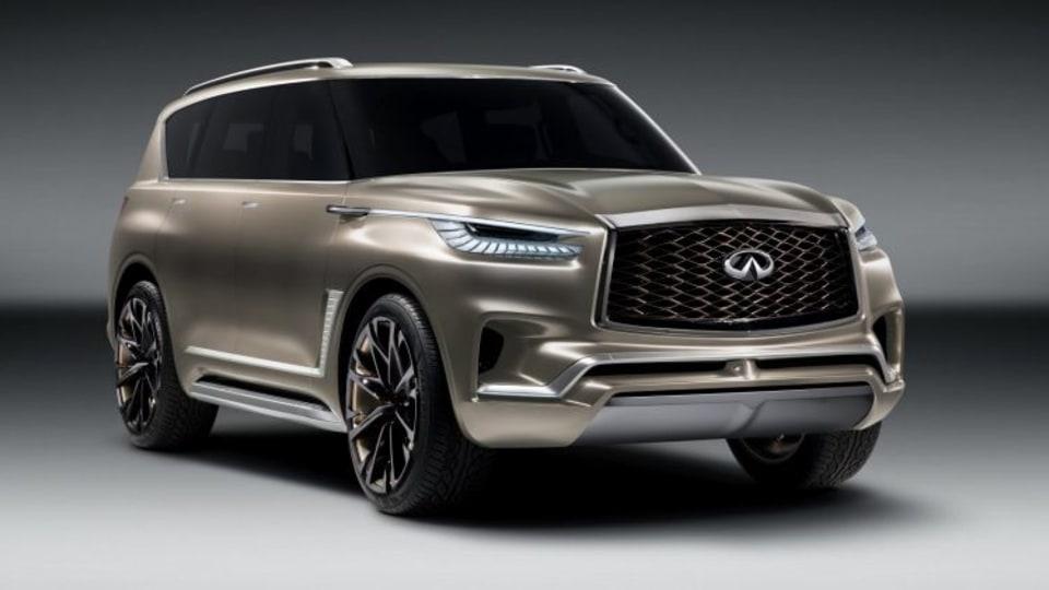 Infiniti tease future SUV
