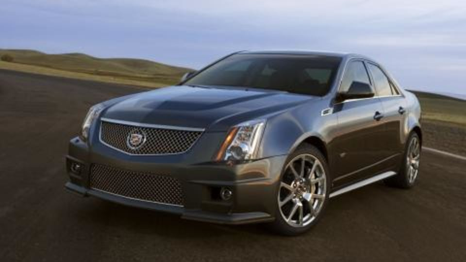 2009 Cadillac CTS-V official preview