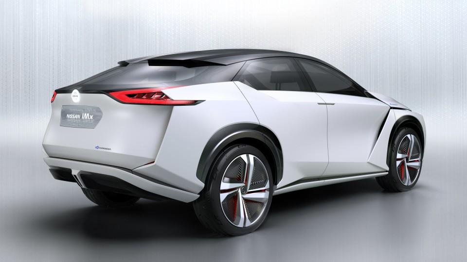 2017 Nissan IMx concept.