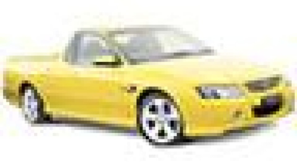 Holden Commodore SS ute