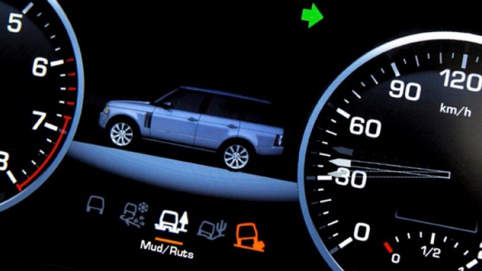 2010 Range Rover TFT virtual instrument cluster