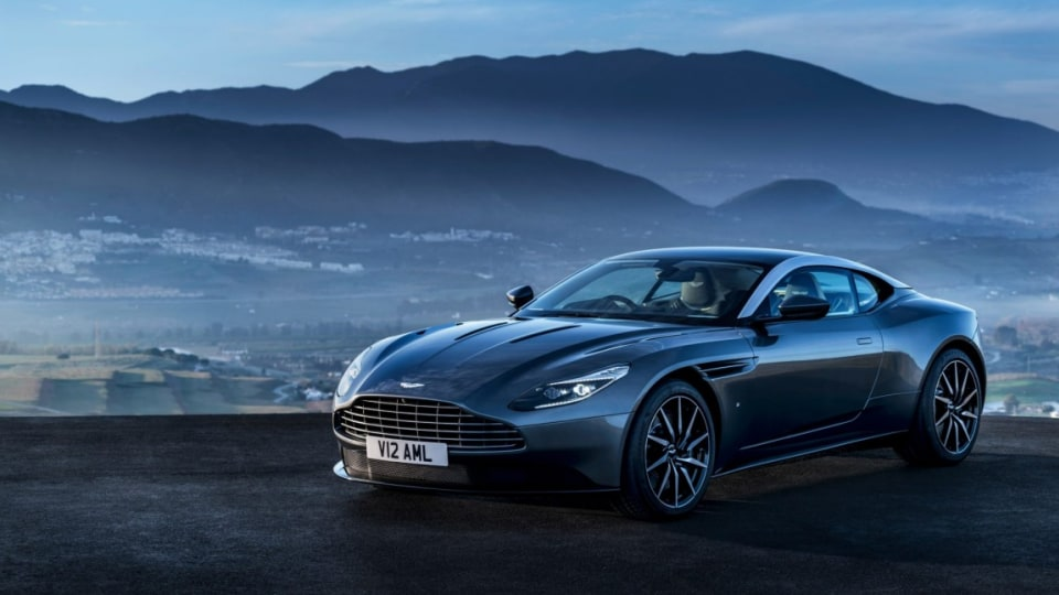 British sports car maker has revealed its DB11, the successor to the DB9.