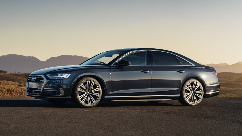 Audi's 2018 A8.